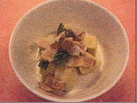 高野豆腐の洋風煮びたし