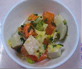 里芋サラダ