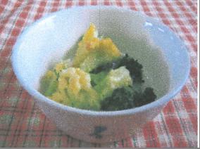 カリフラワーのクリームマヨ焼き