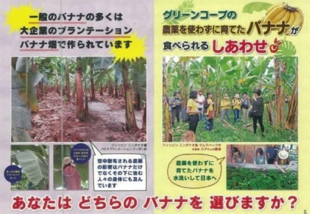 474 「民衆交易(ネグロス)バナナ」の利用をとおして、ミンダナオ島の自然と環境、人々のくらしを守ろう! -5